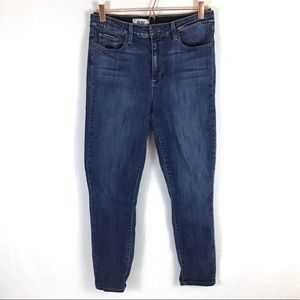 Paige Hoxton Ankle Skinny High Rise Jeans Size 31